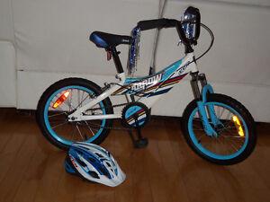 Bicyclette 16 pouce CCM ARROW AVEC casque ccm