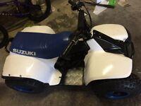 Suzuki lt50 quad and/or suit.