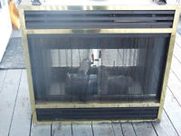 SEE THRU, GAS/PROPANE FIREPLACE INSRT;  Sale/trade