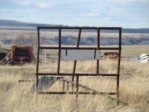 Hay Rack for flat deck