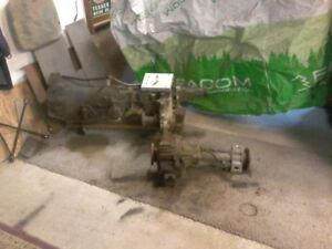 1993 4 wheel drive transmission and  transfer case