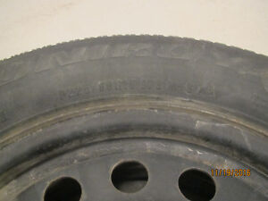 A set of 4 Uniroyal Tiger Paw ICE&SNOW TIRES on RIMS Kitchener / Waterloo Kitchener Area image 4