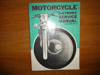 1972 Motorcycle & Moped Service Manual BMW Honda Kawasaki Yamaha