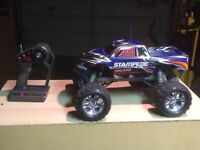 Traxxas 2wd stampede brushless truck!