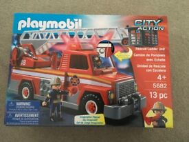 PLAYMOBIL 5682CITY ACTION RESCUE LADDER ACTION