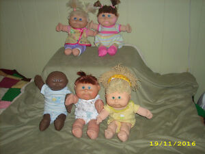 Cabbage patch dolls ,