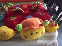 Lotti Ladybird Tummy time & Playmat