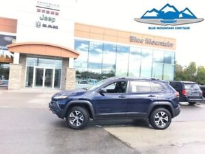 2016 Jeep Cherokee Trailhawk  ACCIDENT FREE, DEALER CERTIFIED/ET
