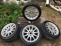 """Hartge 17"""" wheels jantes bmw e36"""