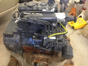 kubota L35 diesel engine with 5 hours on it.