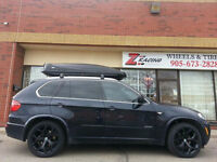 20 inch Staggred Black Rims for BMW X5 X6 Call : 905 673 2828