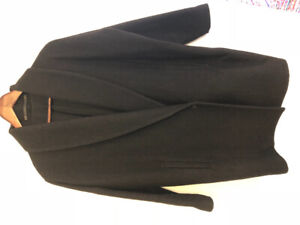 Beautiful black cocoon wool coat from All Saints