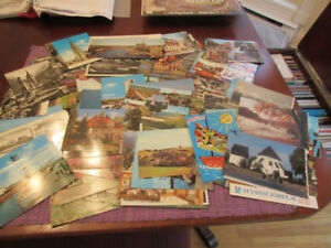 Over 100 vintage postcards - most from Germany
