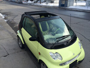 2005 Smart Fortwo Coupé (2 portes)**CONVERTIBLE**