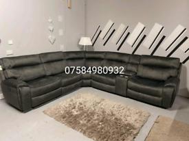 Beautiful brand New Harvays electric recliner corner+ footstool sofa