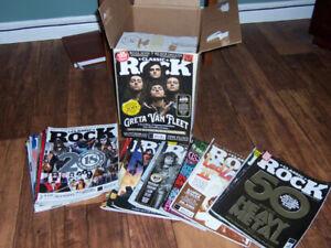 Classic Rock Magazines