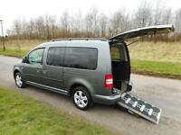 2013 Volkswagen Caddy 1.6 Tdi Auto Automatic. WHEELCHAIR ACCESSIBLE VEHICLE WAV
