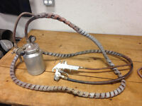 DeVilbiss Pressure Feed Spray Guns - EXCELLENT WORKING CONDITION