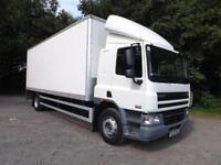 2010 DAF 18 Tonne Box Truck CF 65.220 Sleeper Cab