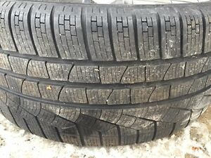 19 Inch Pirelli Winter Tires and Momo Rims - Set of 4 Kingston Kingston Area image 5