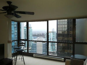 $2600 / 1br - 700ft2 - Sublet available in Coal Harbour (Vancouv