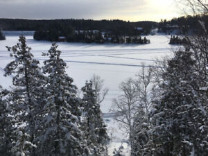 Lake Temagami Ice Fishing