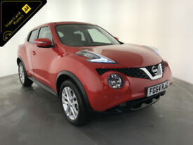 2014 64 NISSAN JUKE ACENTA DIG-T 5 DOOR HATHBACK 1 OWNER FROM NEW FINANCE PX