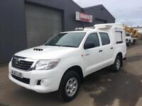 2013 Toyota Hilux 2.5 D4-D HL2 Double Cab 4x4 Diesel Utility Pickup *73k* NO VAT