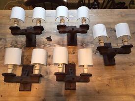 Wooden Wall Lights