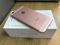 IPhone 6s 16gb Rose Gold unlocked like new