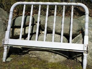 Antique Cast Iron Bed Frame Kawartha Lakes Peterborough Area image 3