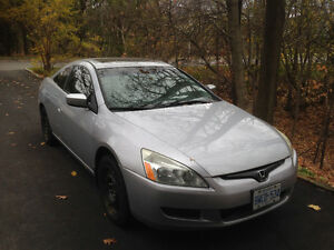 2005 Honda Accord Coupe EX-L
