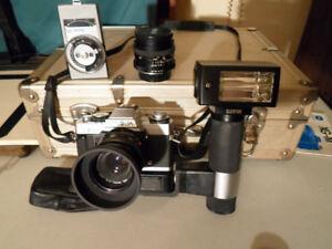 caméra 35MM  et auto zoom 3400