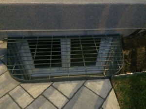 Grille protectrice de margelle