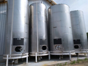 Price Drop!  Stainless steel wine tanks