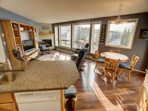 Top floor Corner Unit with Three Sisters View Canmore Alberta