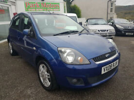 2008 Ford Fiesta 1.6 TDCi Ghia 5dr * Only 59k Miles from New * New MOT