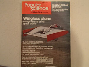 Vintage Popular Science Magazine April 1978 GC Sarnia Sarnia Area image 1