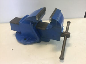 """Vise with 4"""" jaws"""