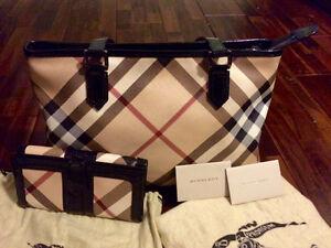 "Authentic Burberry ""Nova Check"" Handbag and Wallet Kitchener / Waterloo Kitchener Area image 1"
