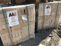 5 packs buff sand face bricks