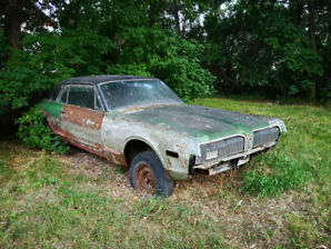 Gutted - 1968 Mercury Cougar