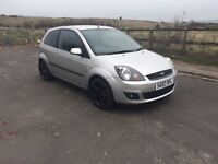 FORD FIESTA ZETEC 1.25 FOR SALE