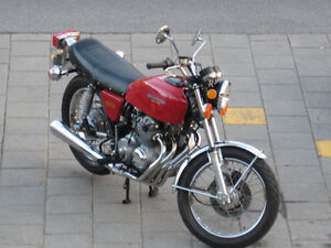 PRICE REDUCED - HONDA CB400F SUPER SPORT