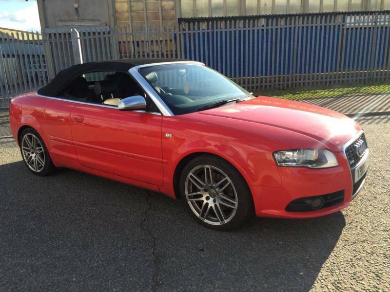 2008 Audi A4 Cabriolet 20 Tfsi S Line 2dr In Walsall West