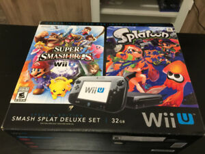 Wiiu with two sets Controllers and lots of games
