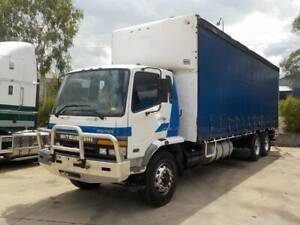 2002 MITSUBISHI 14-PALLET CURTAINSIDER-Finance/Rent-to-Own $343pw* Narre Warren Casey Area Preview