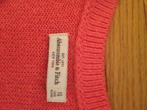 Abercrombie and Finch cosy sweater