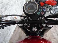 Triumph Bonneville Newchurch 65 plate with genuine 385 miles!