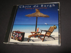 Chris de Burgh CD new in pkg TIMING IS EVERYTHING